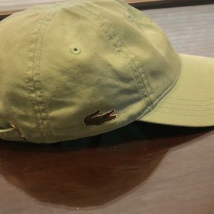 Lacoste Adjustable hat ball cap Teal